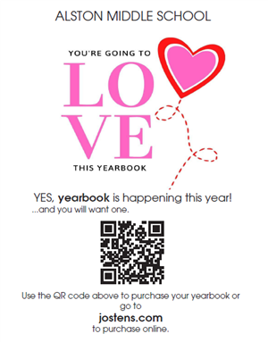 Buy your yearbook!