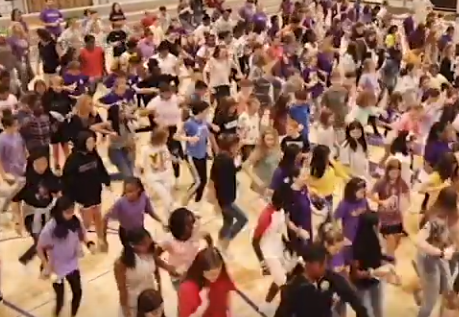 Great fun on our first Friday with the RMSA FLASH MOB!