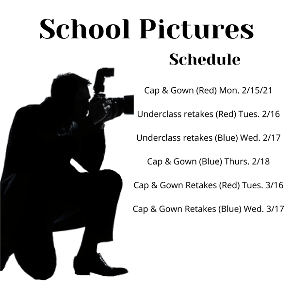 School pictures dates