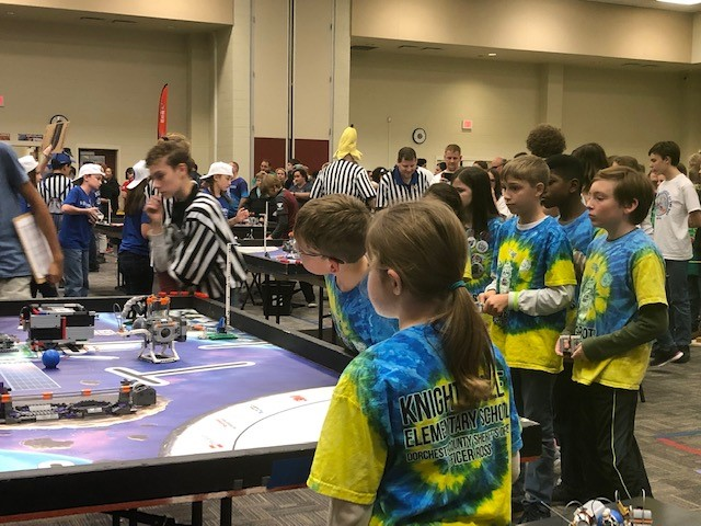 KES Jagbots compete at State competition