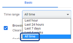 select All time