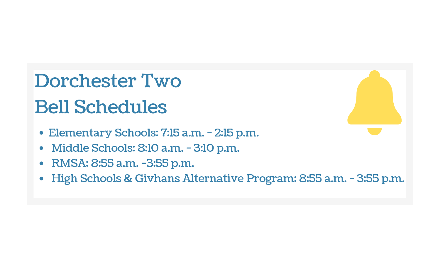 Dorchester School District Two / Homepage